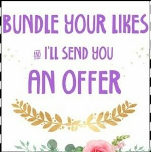 Bundle likes for an offer!